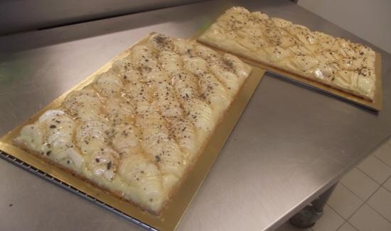 2 tarte aux poires fraiches 20-24 parts