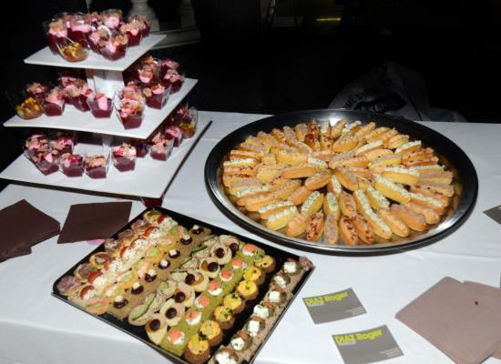 buffet traiteur Diaz Roger partenaire de la soirée