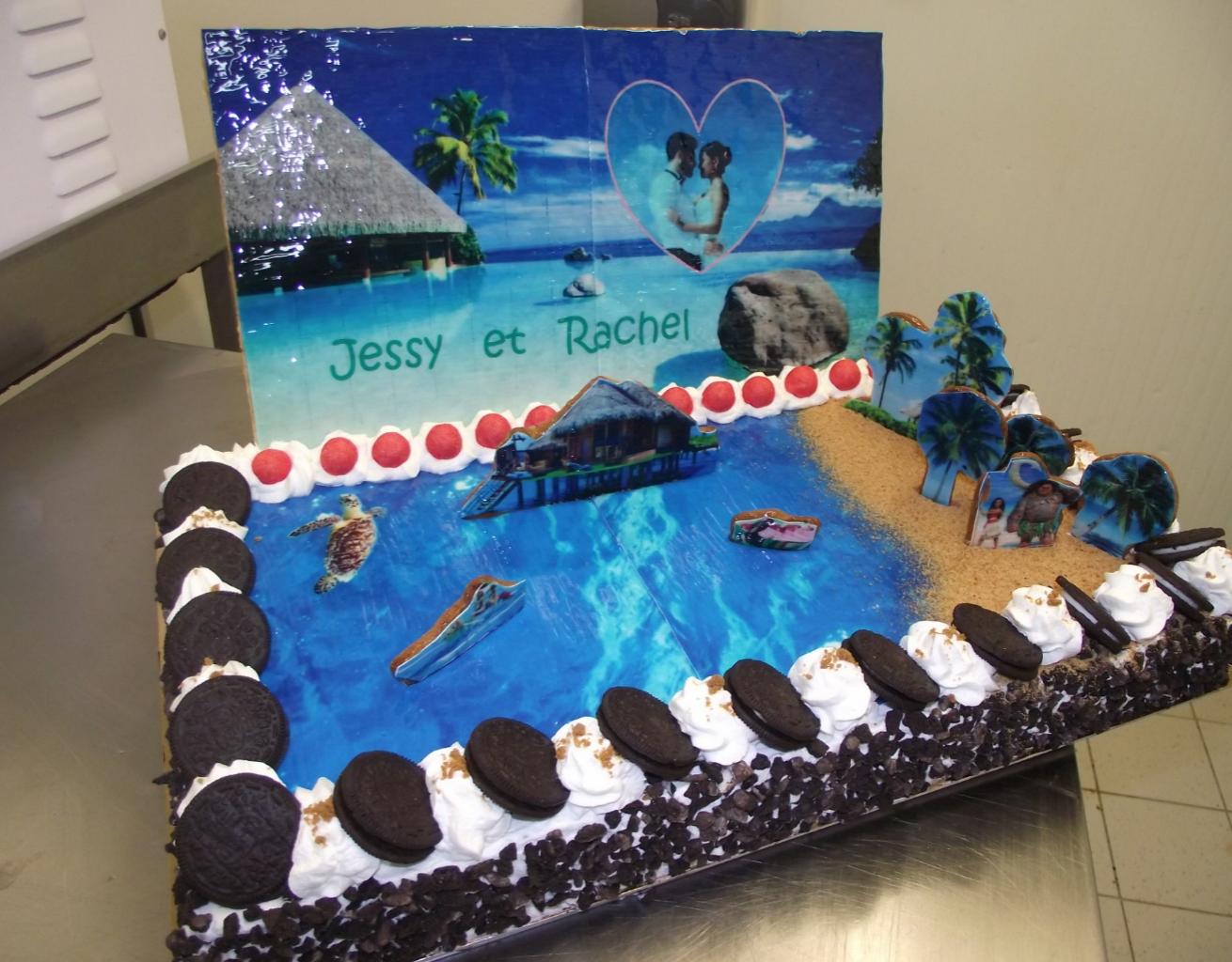 Choco chanel 20-24 parts avec thème des îles