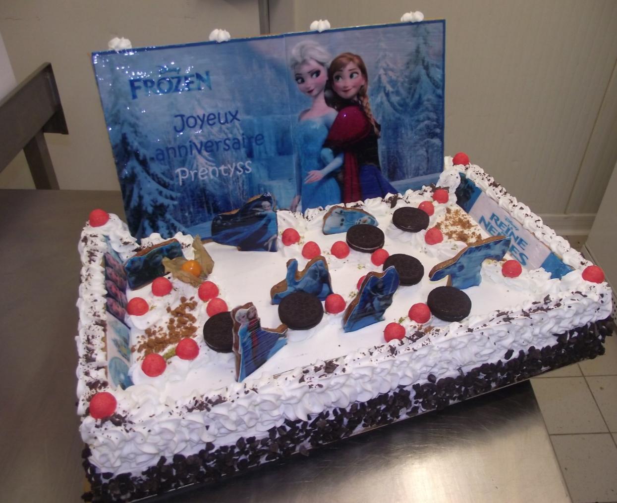 Choco chanel 20-24 parts avec thème reine des neiges