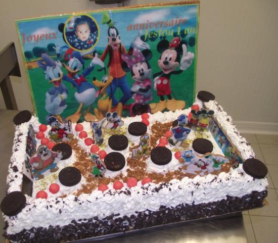 choco chanel 20-24 parts thème Mickey