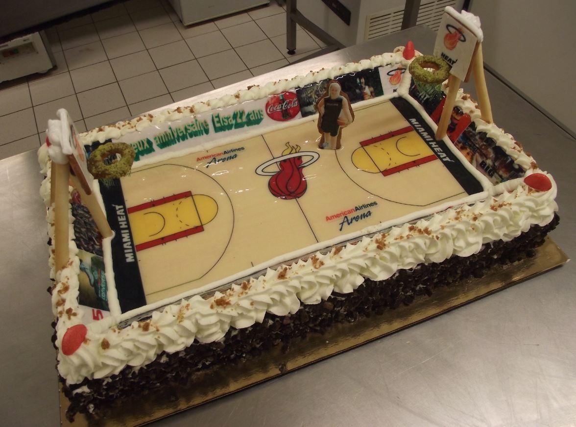 choco chanel 20-24 pers. thème basket Miami Heat