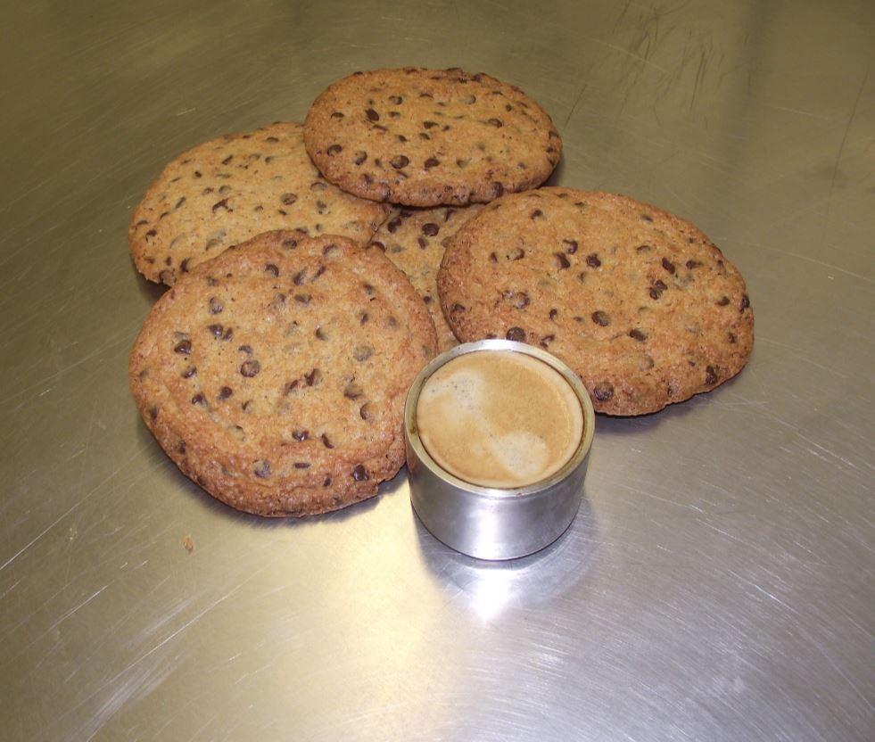 Cookies aux pépites de chocolat.
