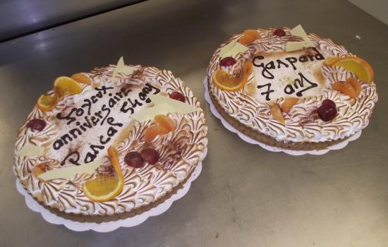 deux tartes citron meringuée 10-12 parts