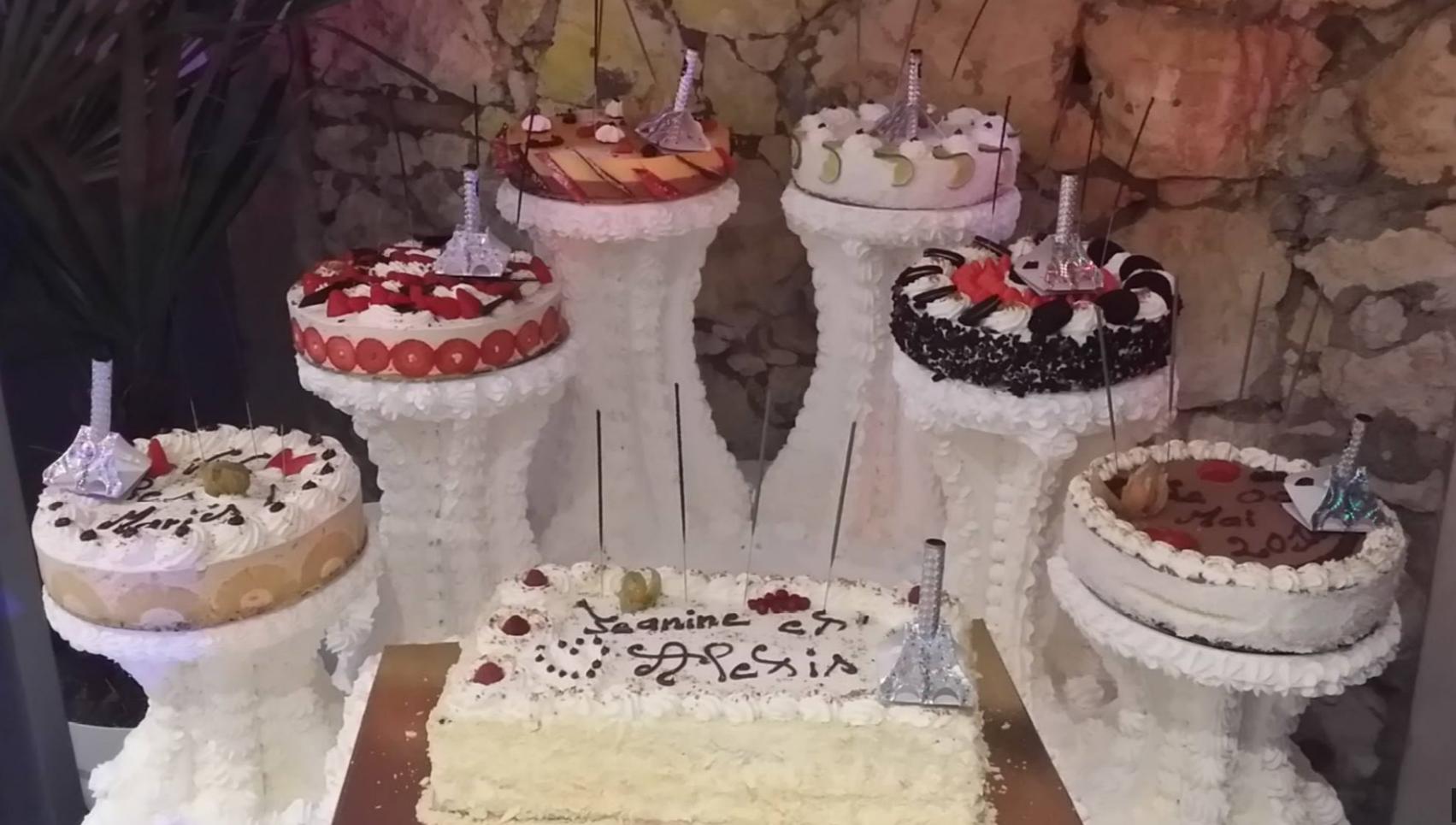farandole de gâteaux