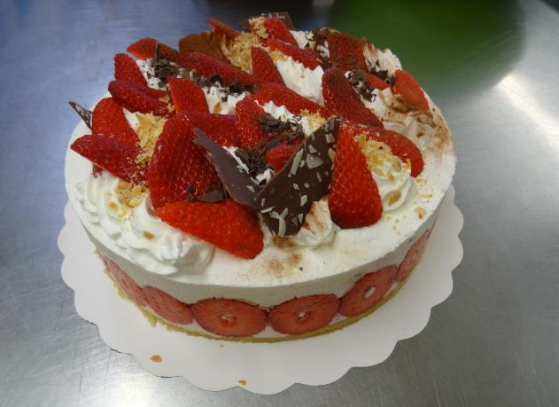 fraisier 6-8 parts..