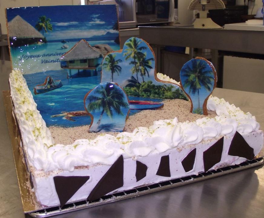framboisier 20-24 personnes thème Tahiti