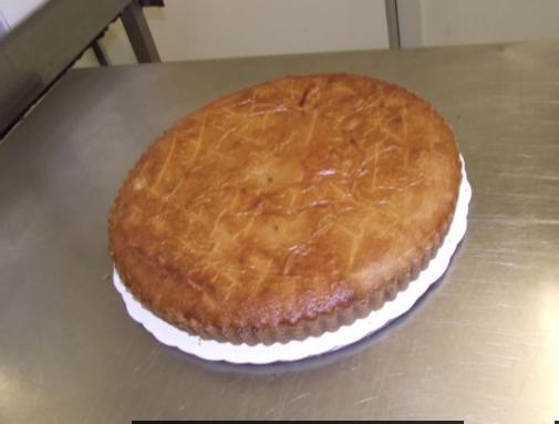 gâteau basque 10-12 parts