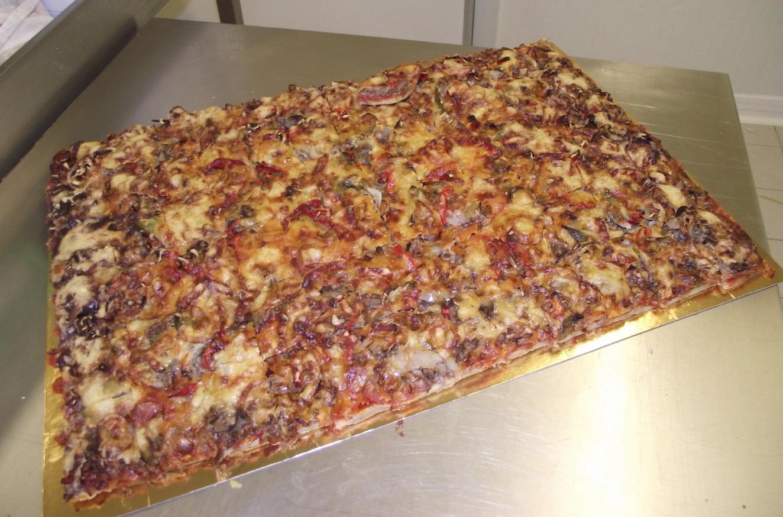 plaque de pizza texane