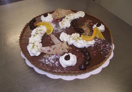 tarte au chocolat 10-12 parts