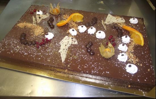 tarte au chocolat 20-24 parts