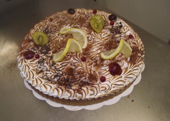 tarte au citron meringuée 10-12 parts