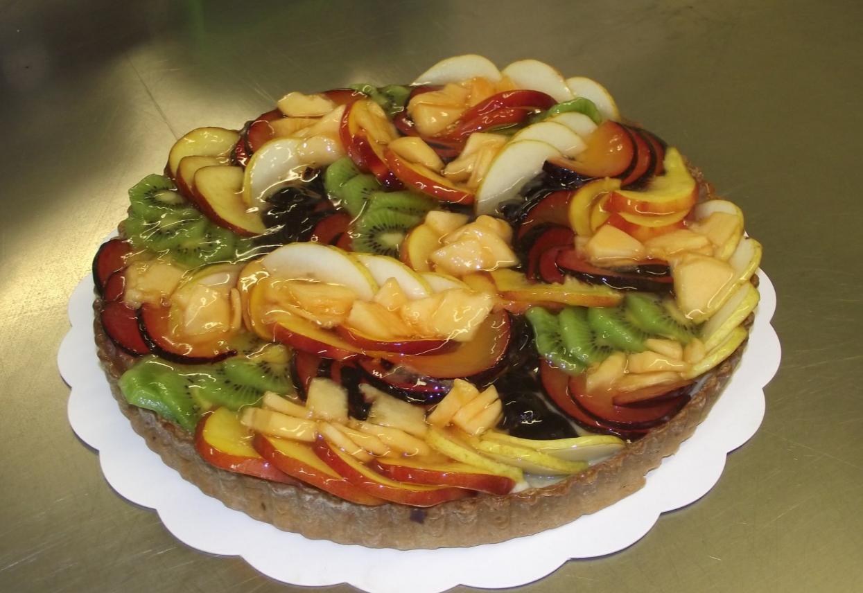 tarte aux fruits frais 10-12 parts