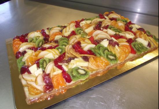 tarte aux fruits frais 20-24 parts