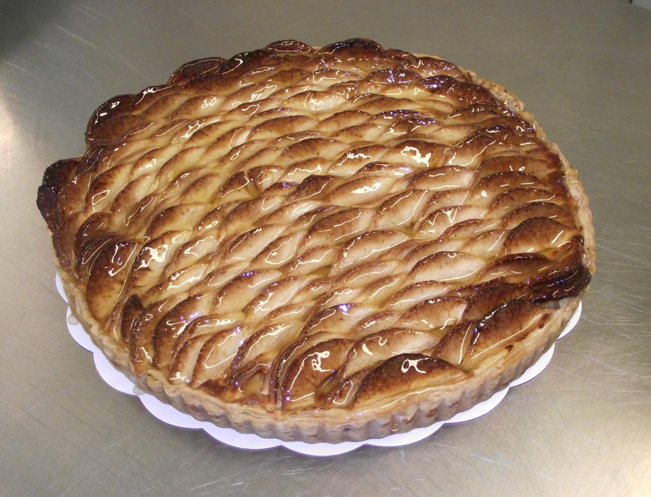 tarte aux pommes 10-12 parts
