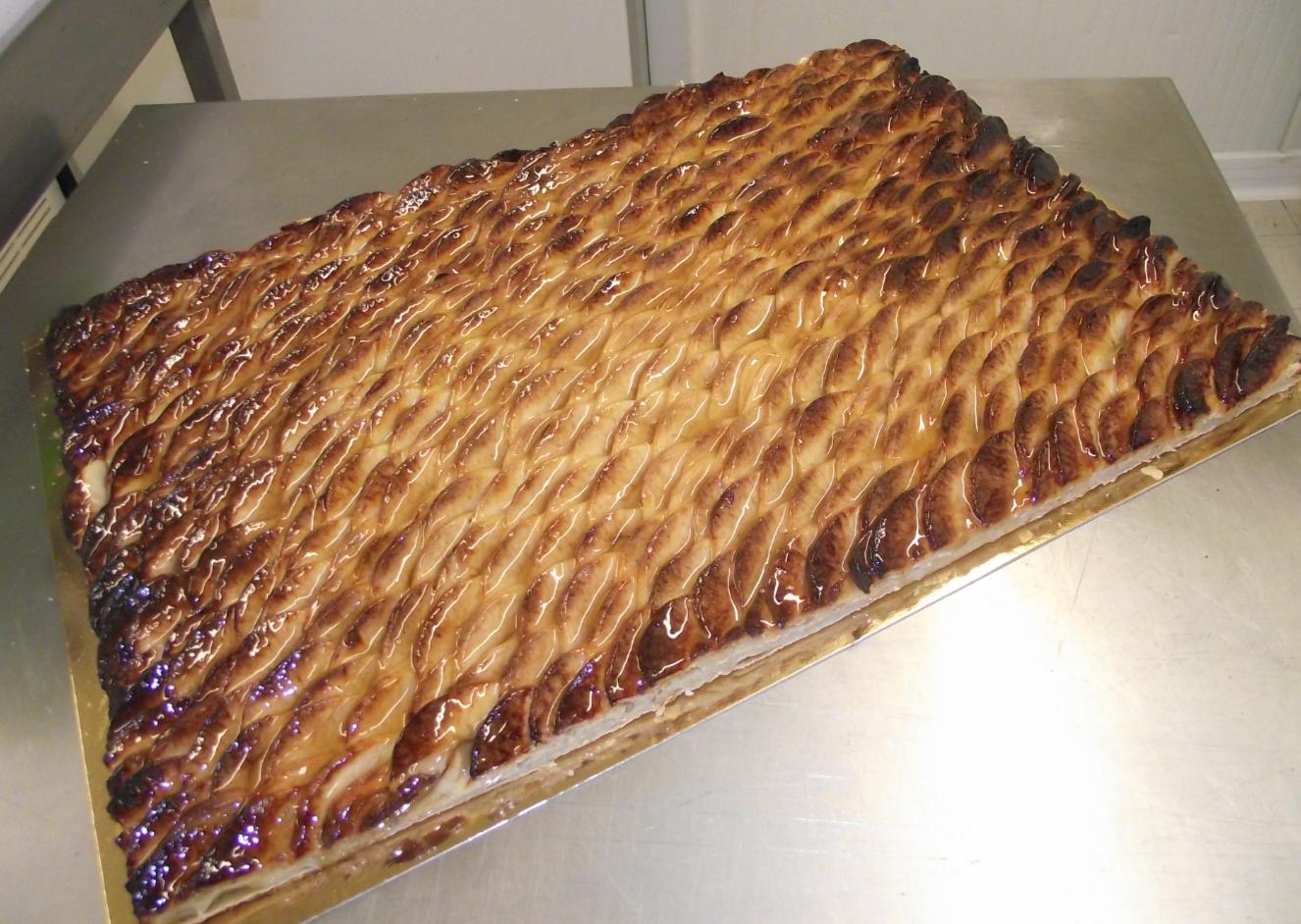 tarte aux pommes 20-24 parts