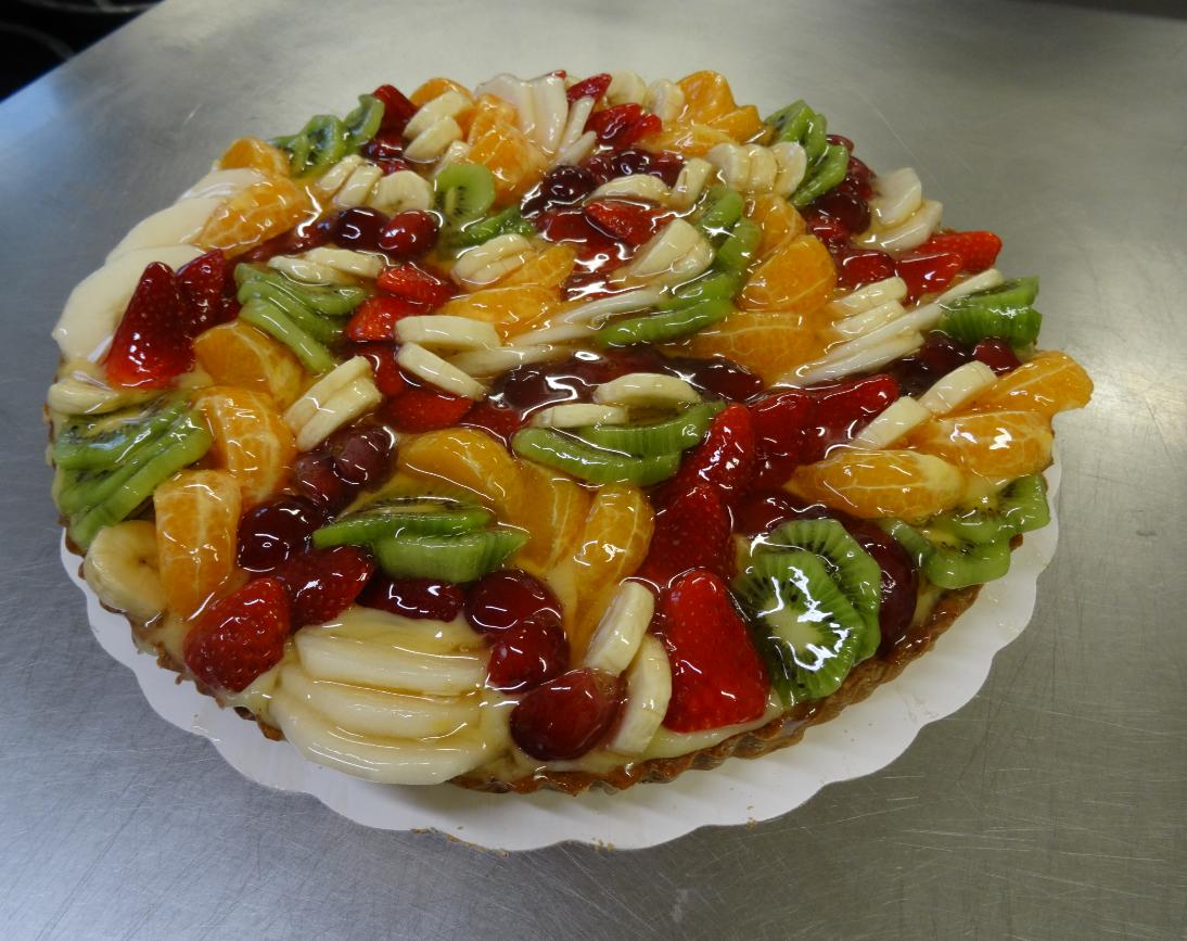 tarte fruits frais 10-12 parts
