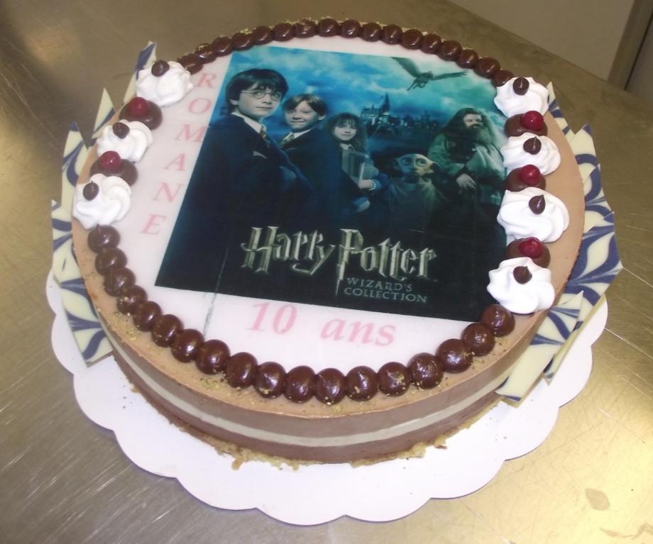 trio 10-12 parts avec photo Harry Potter