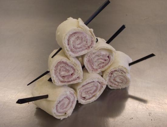 wraps jambon ail et fines herbes