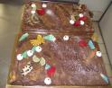 2 tartes choco poires 20 24 parts