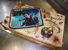 Bavarois poire caramel 20 24 parts avec photo famille