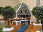 Piece montee theme moulin a eau domaine de marcot