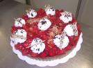 Tarte aux fraises 10 12 parts