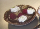 Tartelette choco /framboise